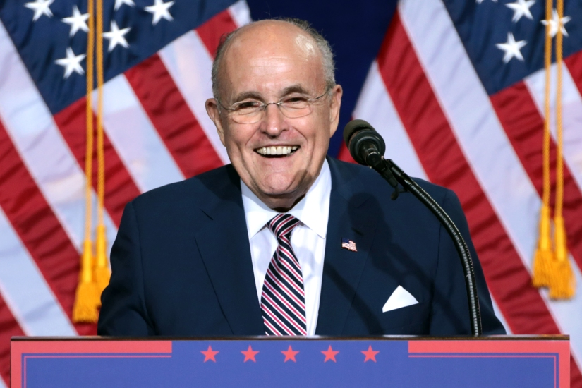 Former Mayor of New York, Rudy Giuliani, Joins Trump's Legal Team