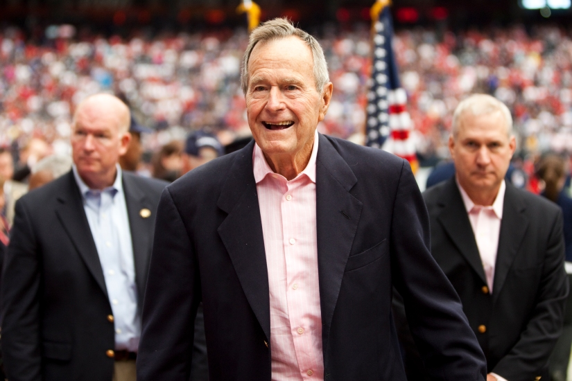 EXCLUSIVE: Remembering George H.W. Bush