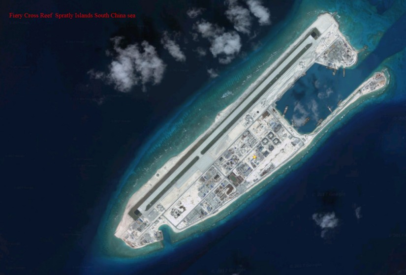 Navy Challenges Disputed Islands in the South ChinaSea