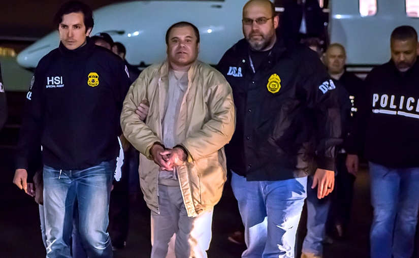 Mexican Drug Lord El Chapo Found Guilty