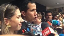 Juan Guaido Banned from Running for Public Office