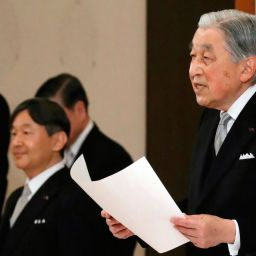 First Japanese Monarch Abdicates in 200 years