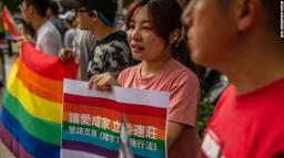 Taiwan Passes Same-Sex Marriage Bill