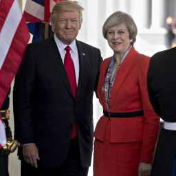 Trump to Meet with British Prime Minister Theresa May