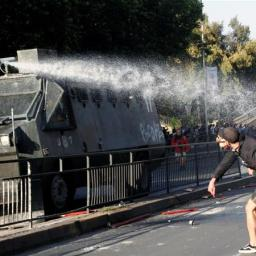 Protests and Riots Continue in Santiago, Chile